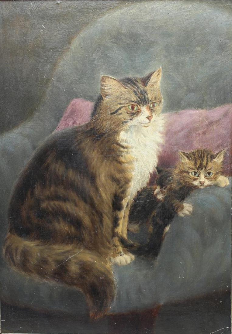 Charles H. Branscombe (England fl. 1887-1899)-Cats