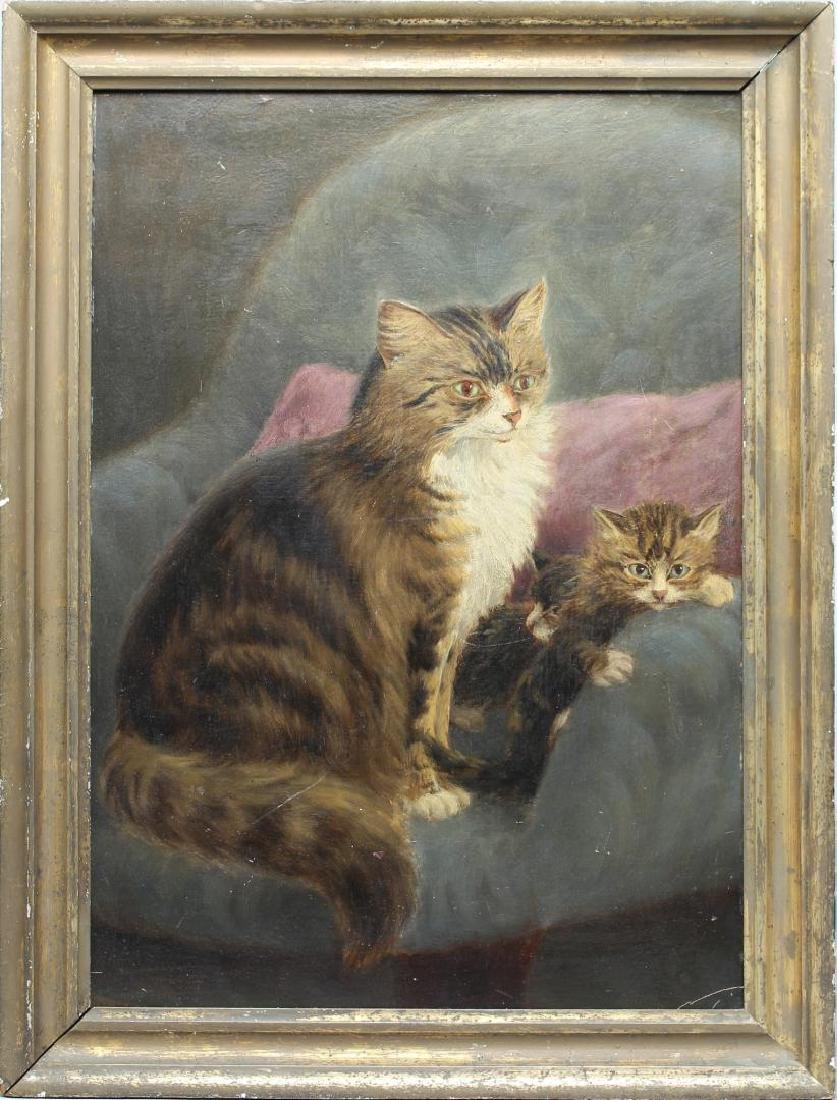 Charles H. Branscombe (England fl. 1887-1899)-Cats - 2