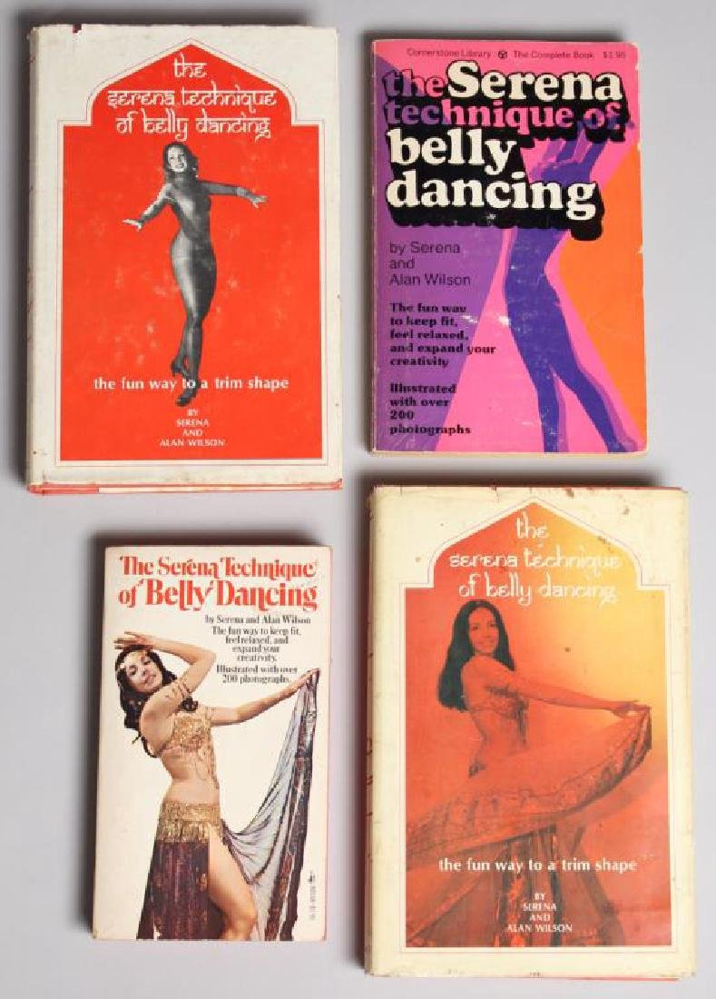 """The Serena Technique of Belly Dancing"" - 4 Copies"
