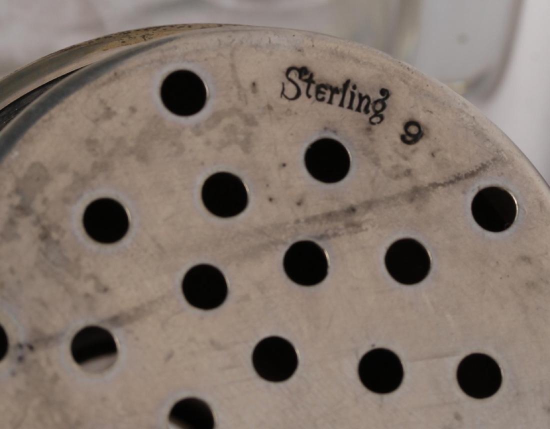 Silver & Cut Glass Shaker, Possibly Hanau - 3