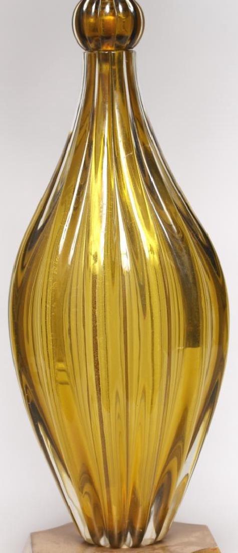 Mid-Century Modern Murano Art Glass Lamp - 5