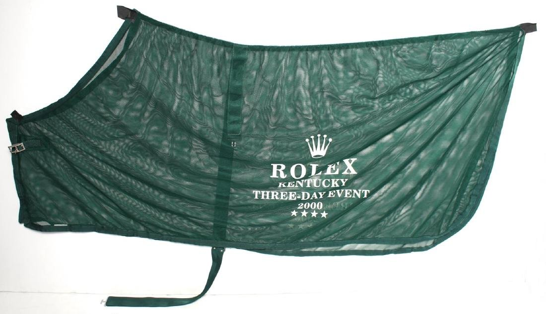 Rolex Kentucky 3-Day Event Horse Blanket & Cap
