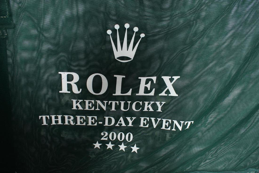 Rolex Kentucky 3-Day Event Horse Blanket & Cap - 2