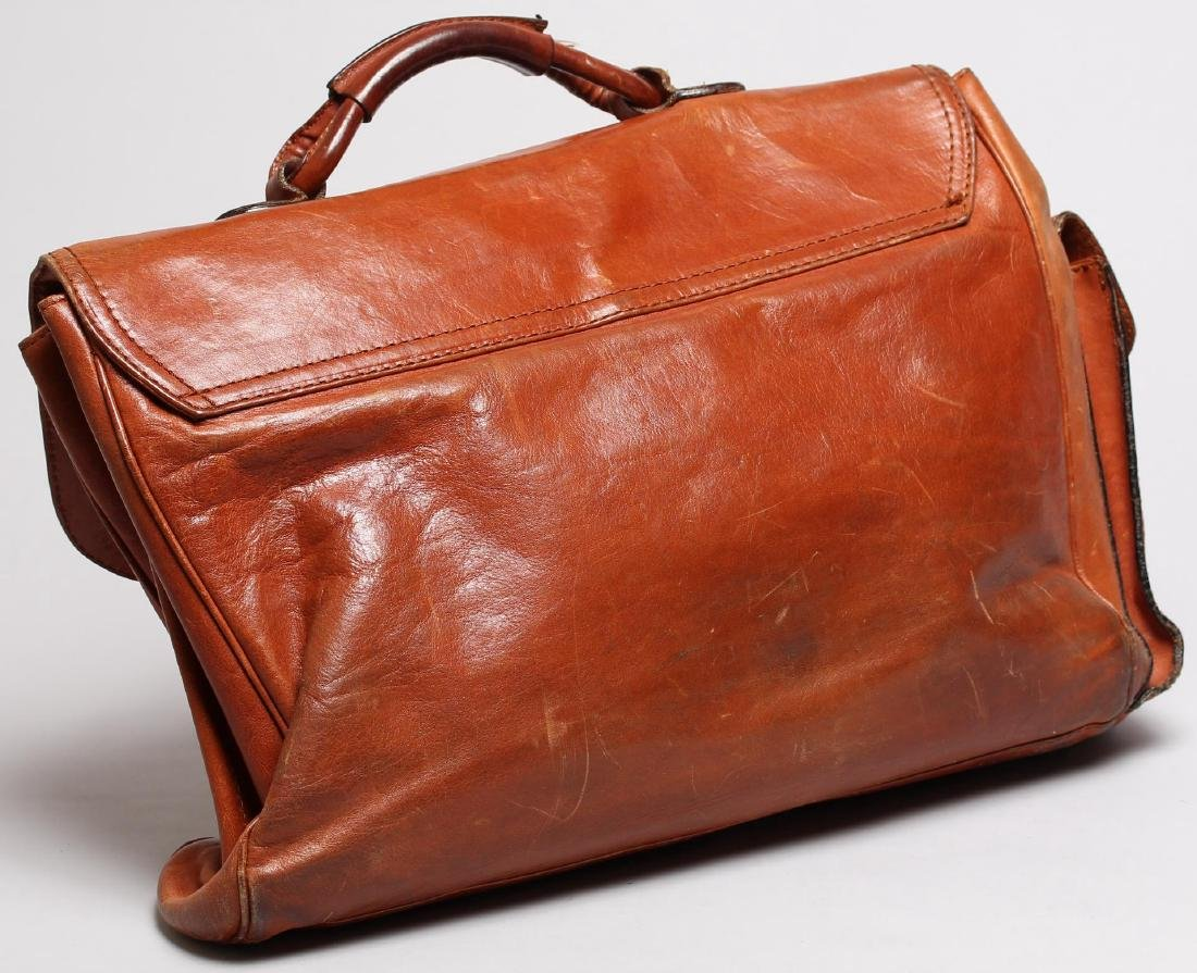 Vintage Italian Leather Soft-Sided Briefcase - 2