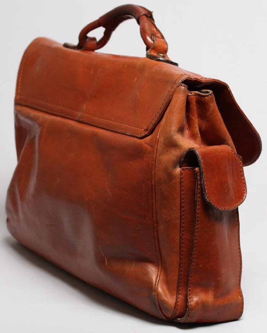 Vintage Italian Leather Soft-Sided Briefcase - 4
