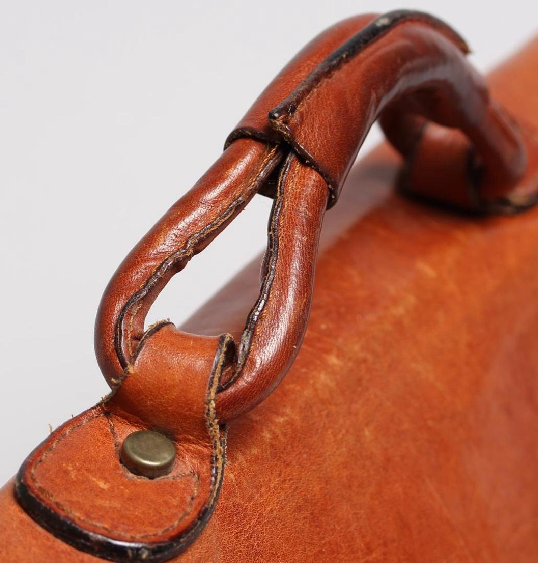 Vintage Italian Leather Soft-Sided Briefcase - 5