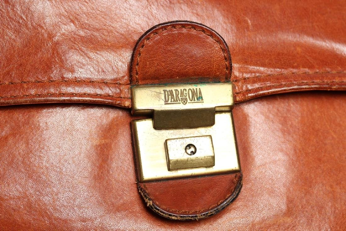 Vintage Italian Leather Soft-Sided Briefcase - 6