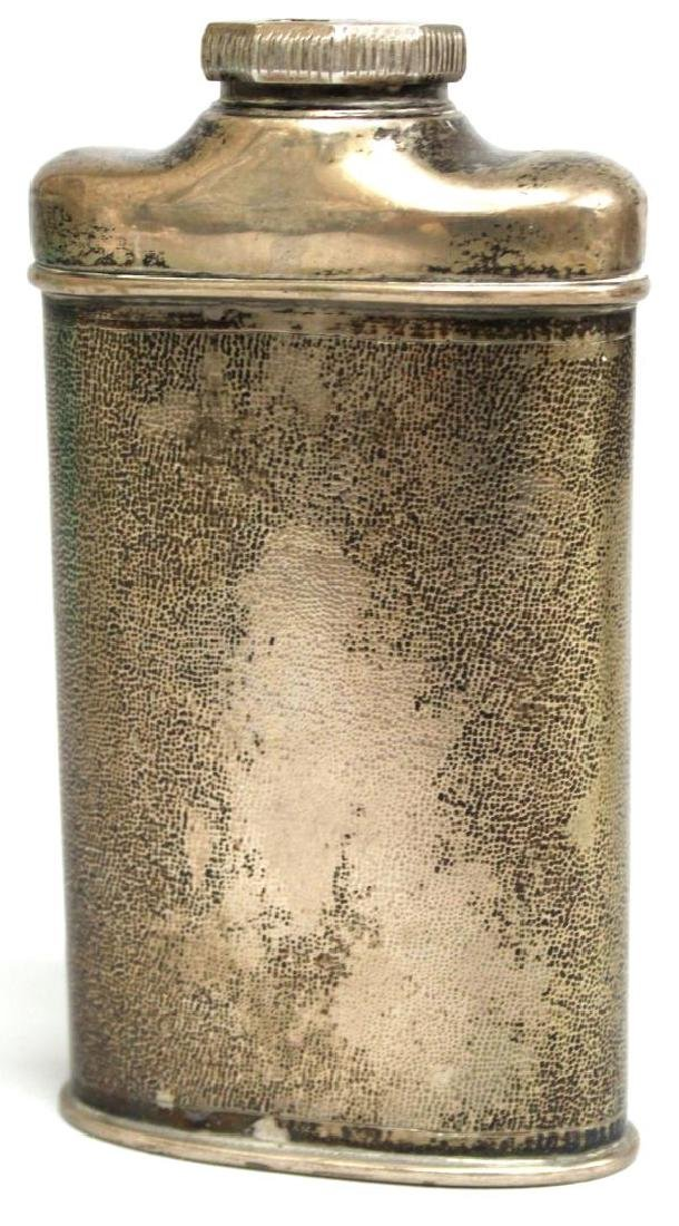 Chinese Sterling Silver Talcum Powder Container