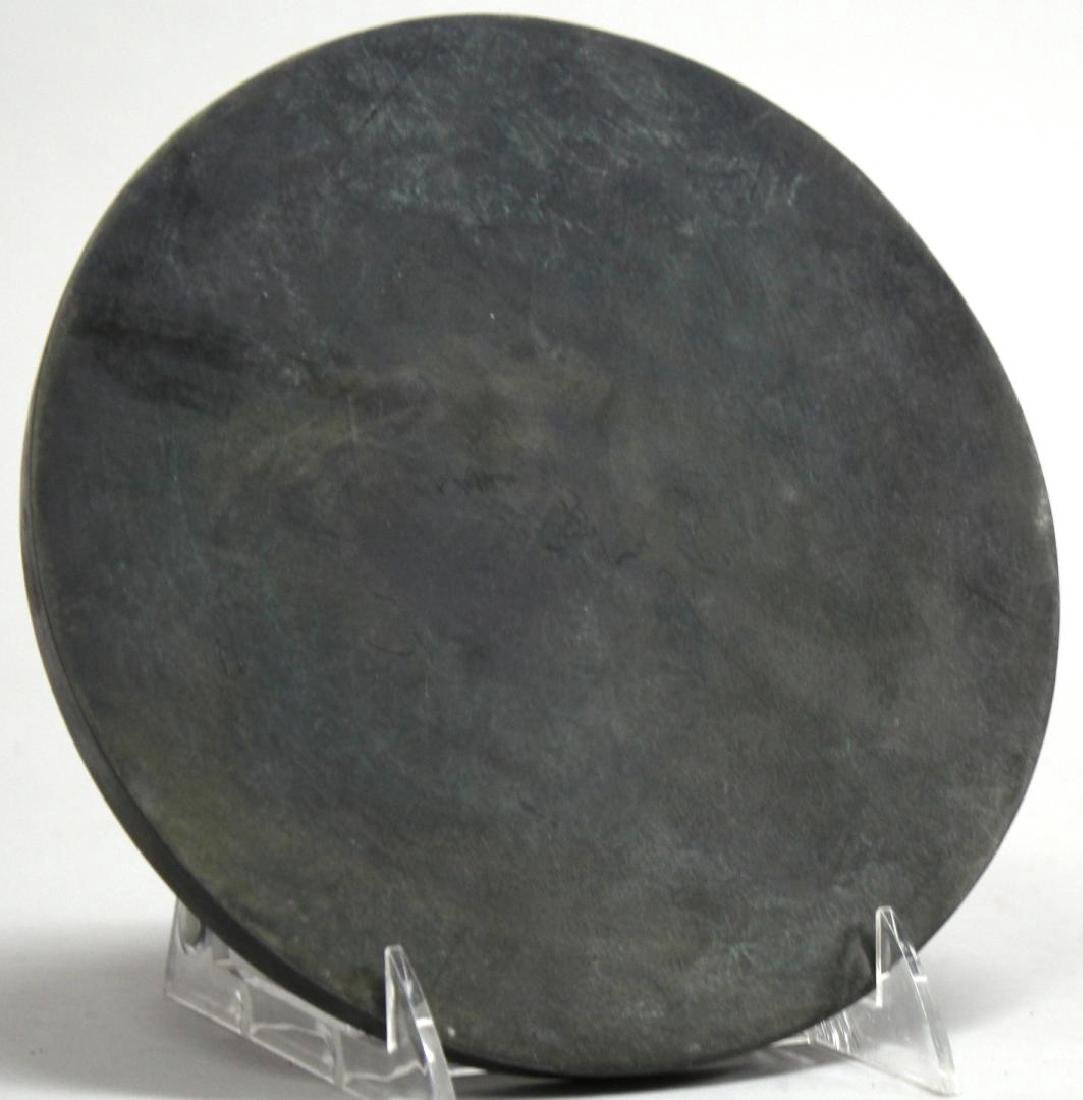 Chinese Tang Dynasty-Style Bronze Mirror - 4