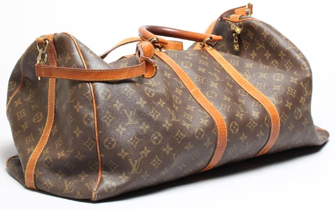 """Louis Vuitton Vintage """"55 Bandoliere"""" Duffel Bag"""