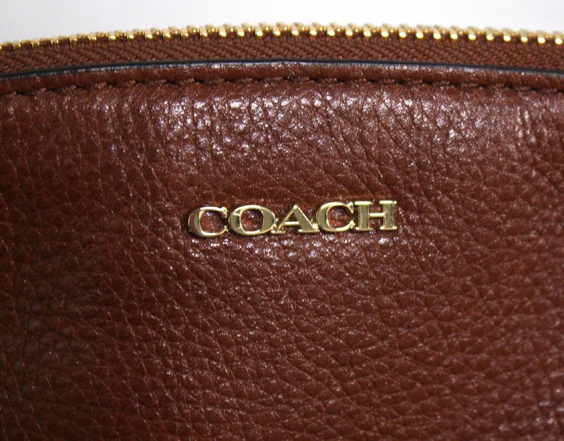 Coach Brown Leather Handbag - 2