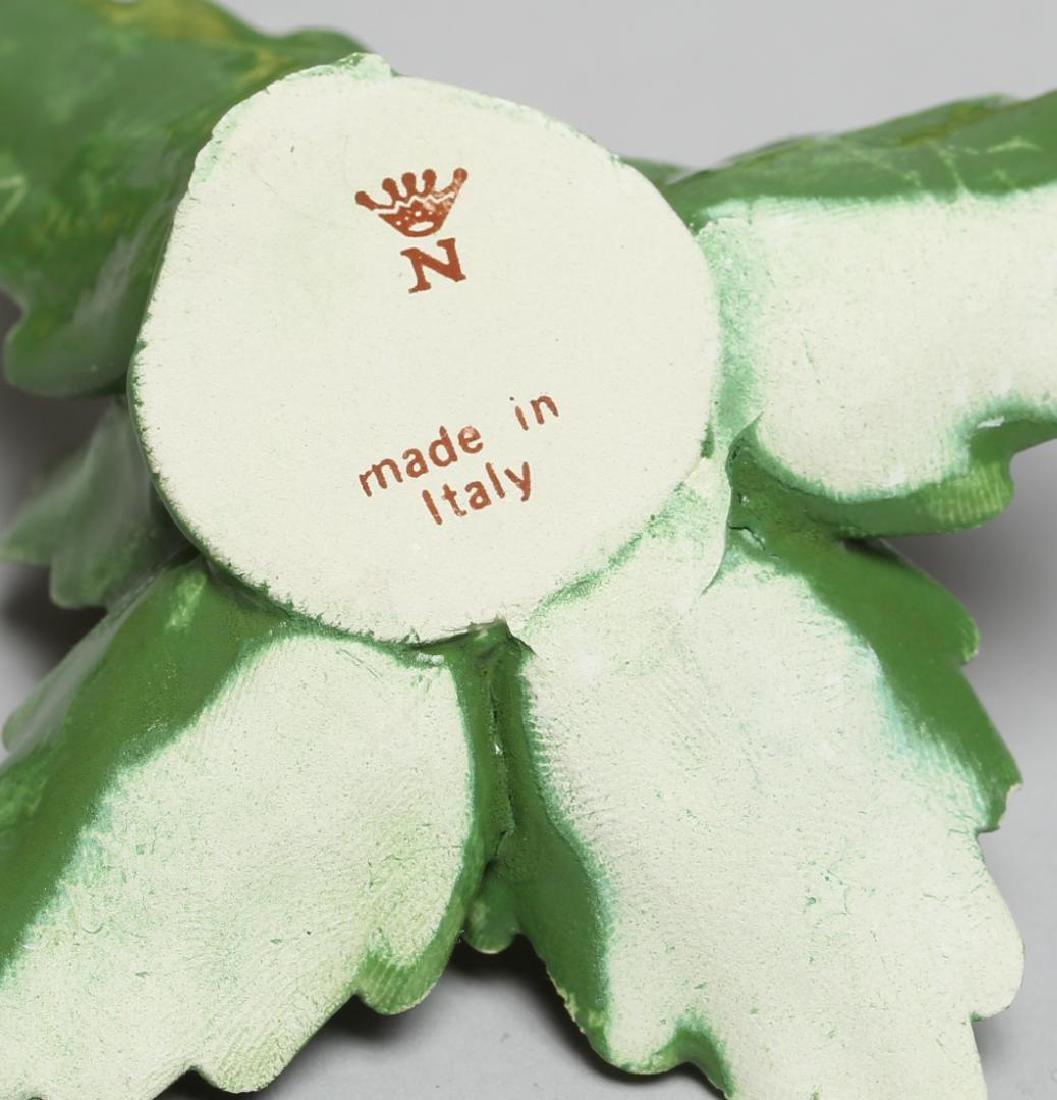 12 Capodimonte Lemon & Leaves Place Card Holders - 4