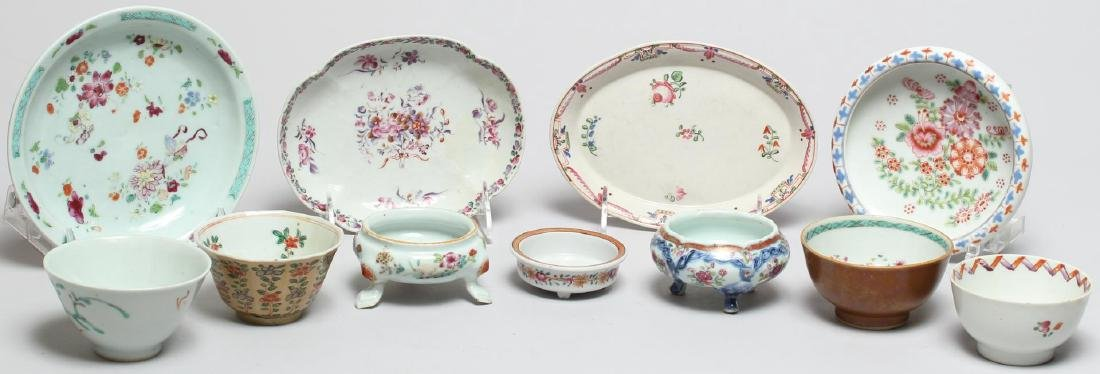 11 Pieces of Assorted Chinese Porcelain
