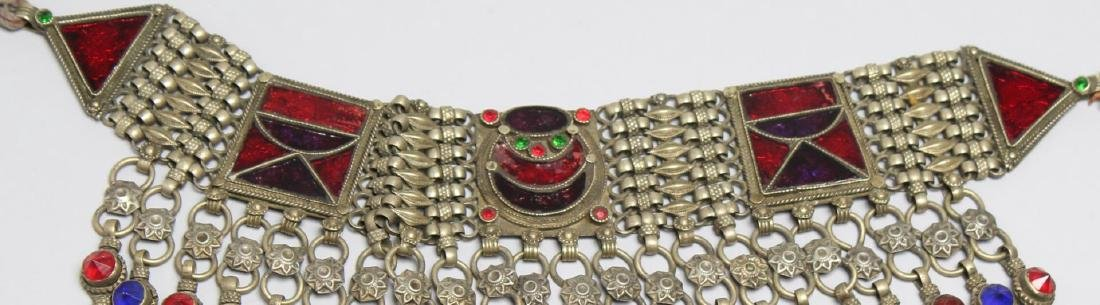 4 North African Tribal Jewelry Pieces - 3
