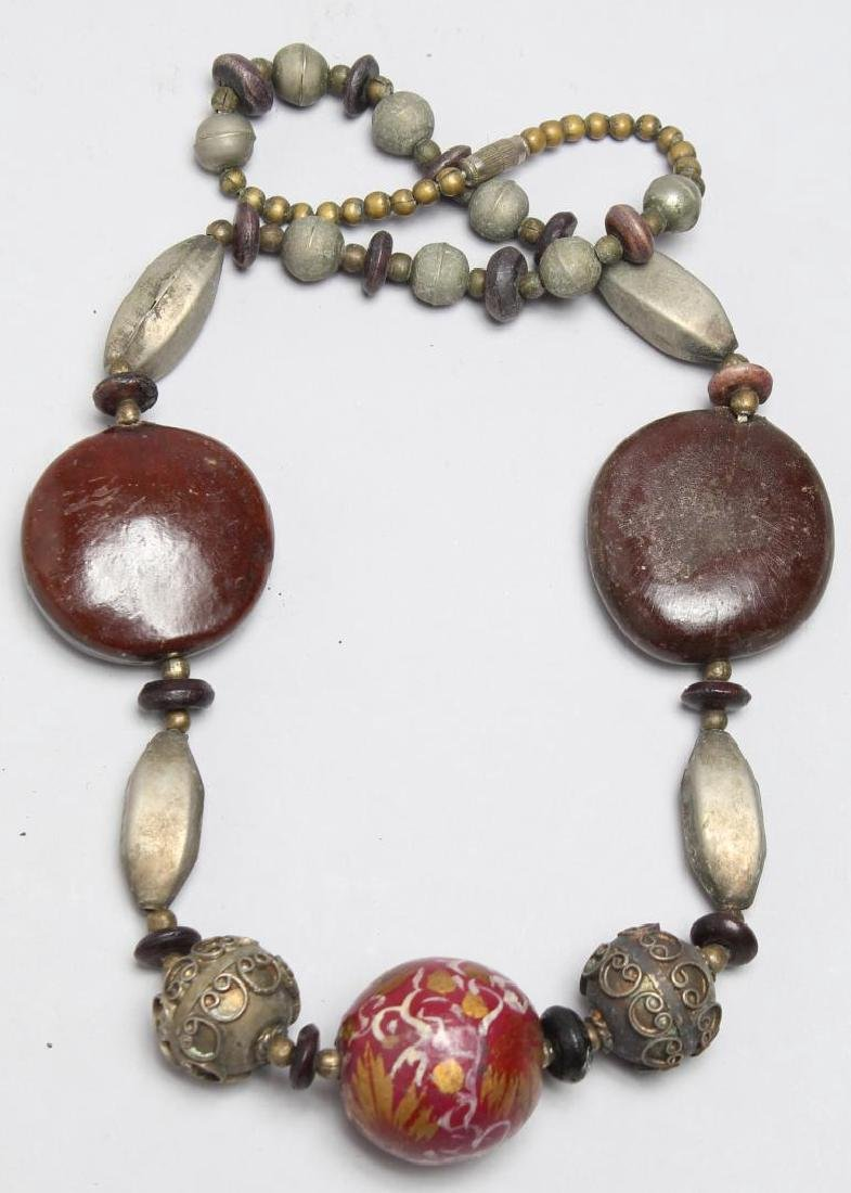 4 North African Tribal Jewelry Pieces - 5