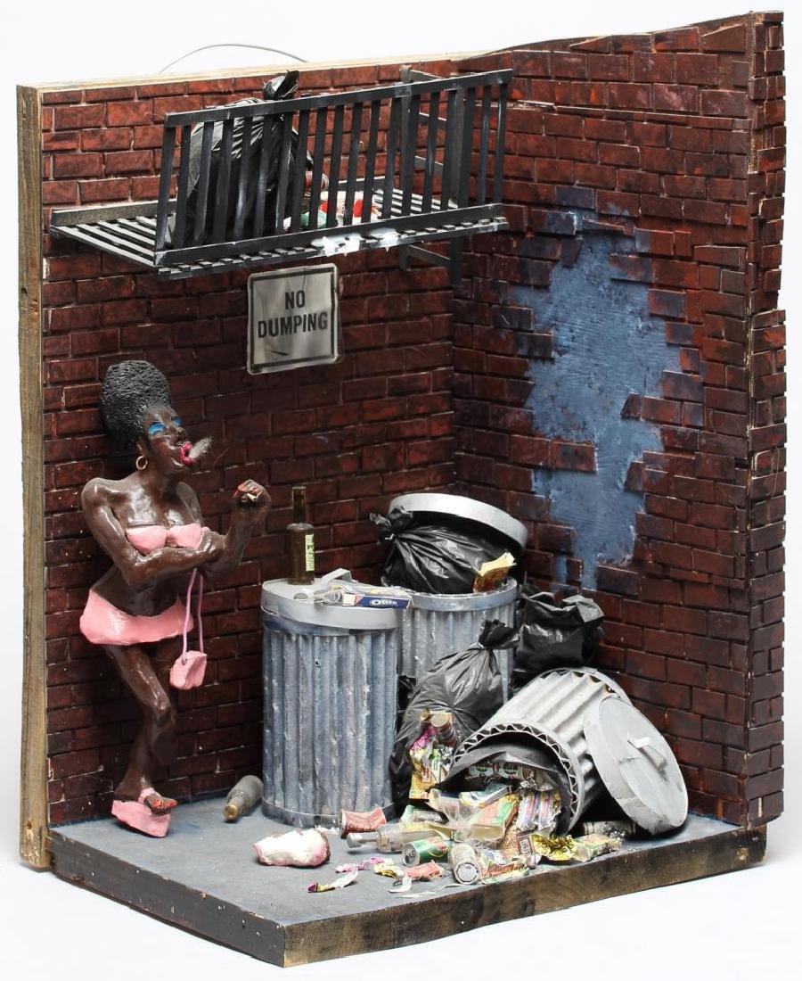 Scott Wilson (American, 20th C.)- Diorama