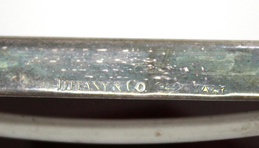 Tiffany & Co Italian Sterling Silver Picture Frame - 4