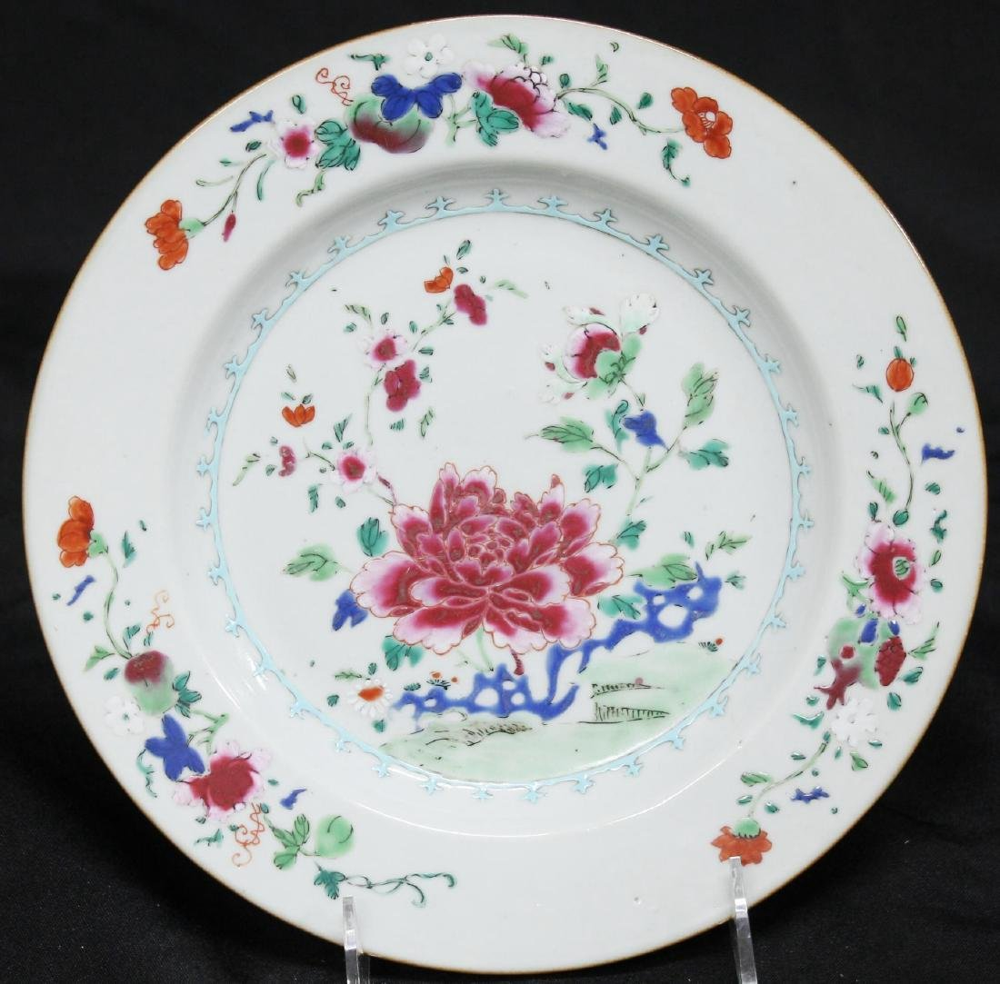 Chinese Export Porcelain Luncheon Plate