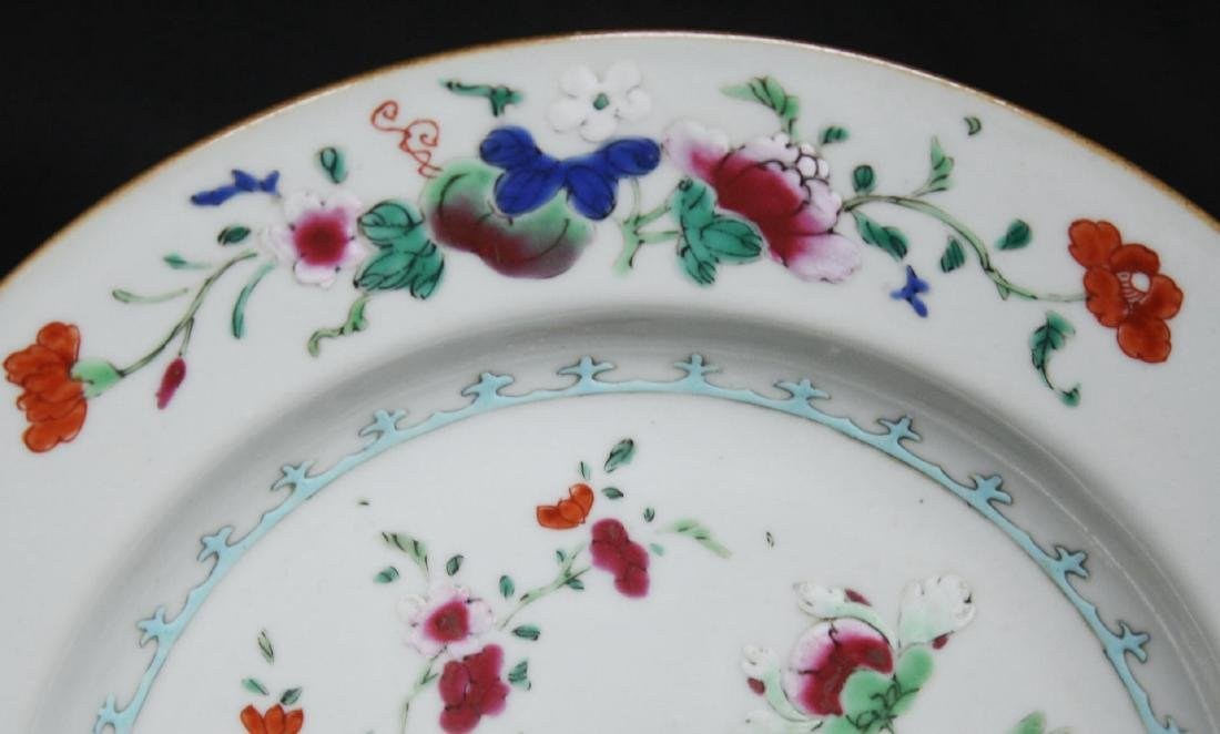 Chinese Export Porcelain Luncheon Plate - 2