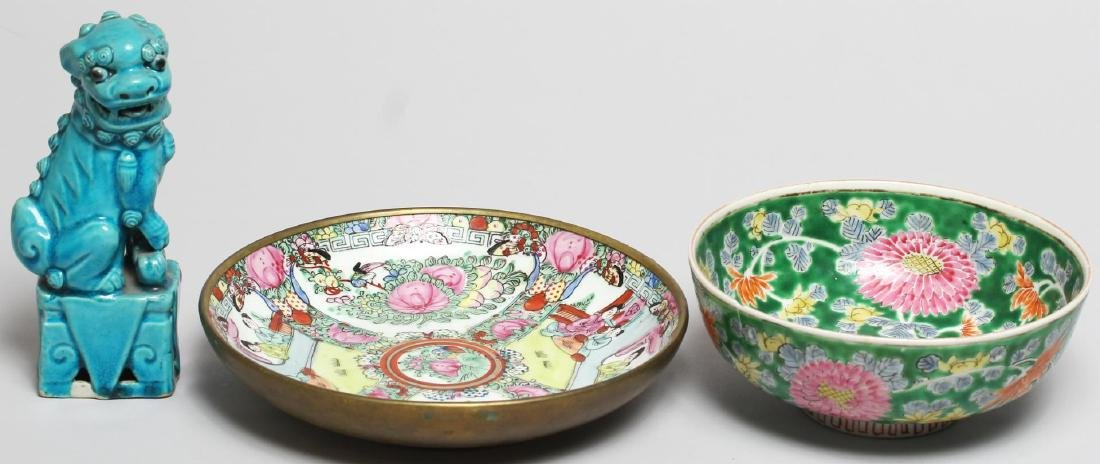 3 Pieces of Chinese Porcelain