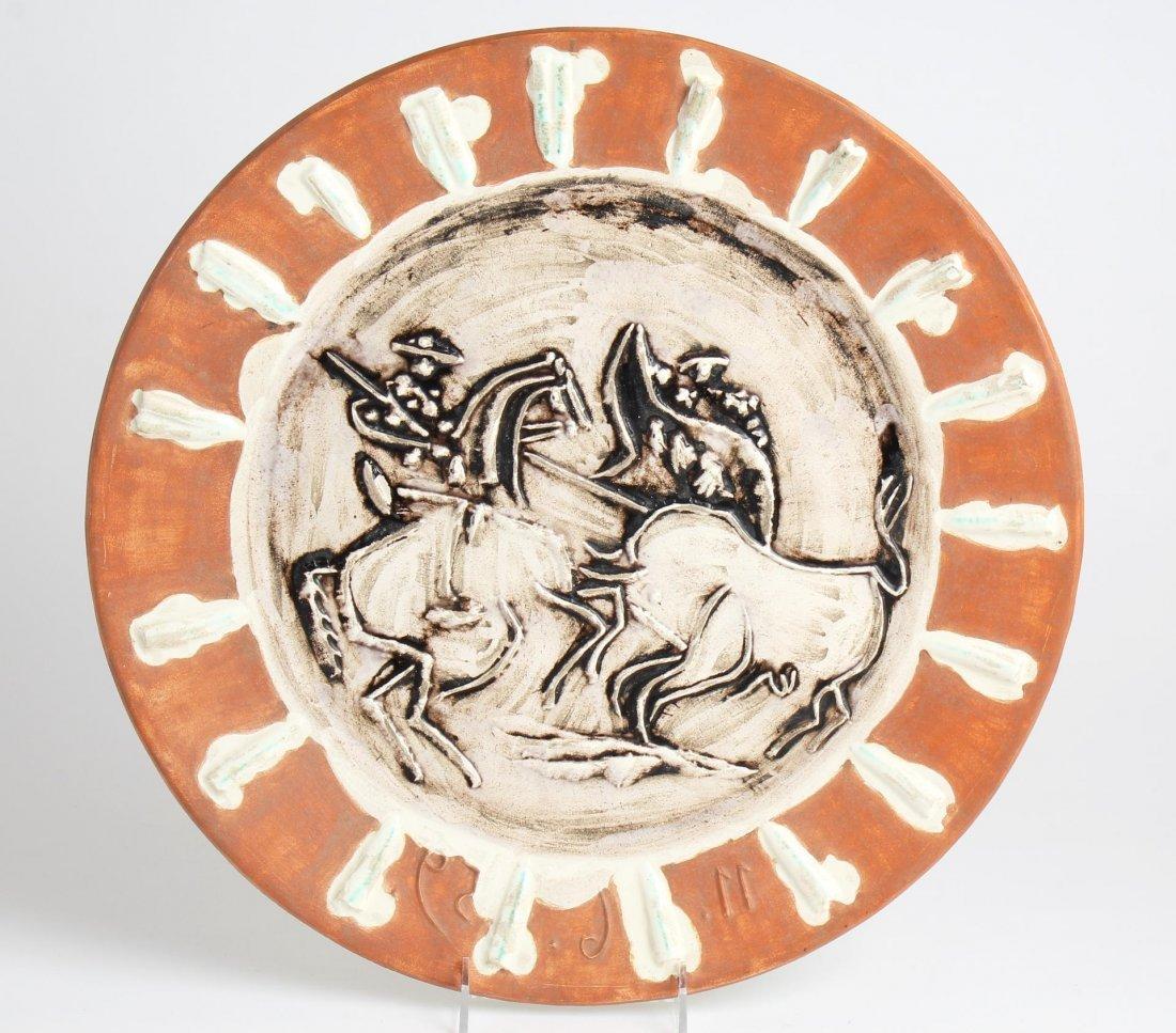 Pablo Picasso (1881-1973)- Madoura Ceramic Plate