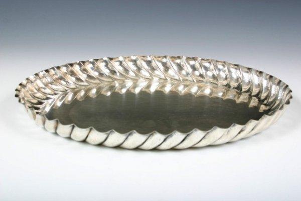 25: Wiener Werkstatte Silverplated Hausler Tray 1920-22