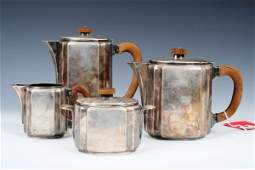 Christofle French Art Deco Coffee & Tea Service