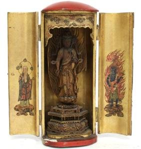 Asian Buddhist Votive of Avalokiteshvara/ Guanyin