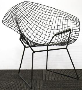 Harry Bertoia Knoll Vintage Black Diamond Chair