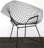 Manner of Harry Bertoia Knoll Black Diamond Chair