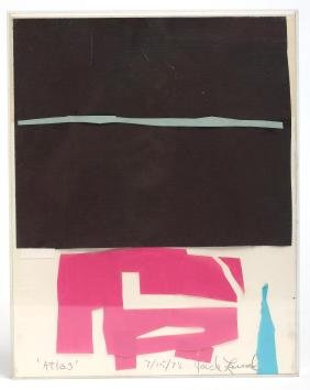 Jack Larned (American, 1920-2009)- Collage