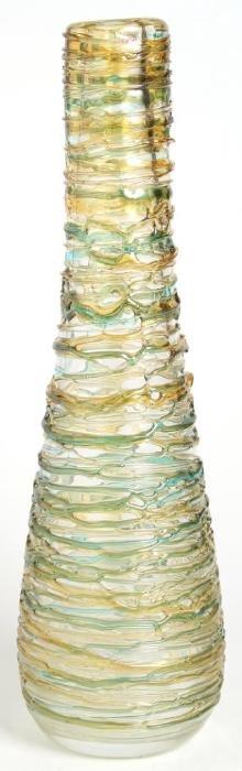 Large Artigianato Muranese Fused Murano Glass Vase