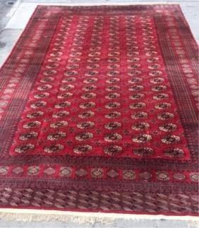 Palace-Size Turkoman Carpet- 12' X 18'
