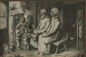 Adriaen van Ostade (Dutch, 1610-1685)- Etching