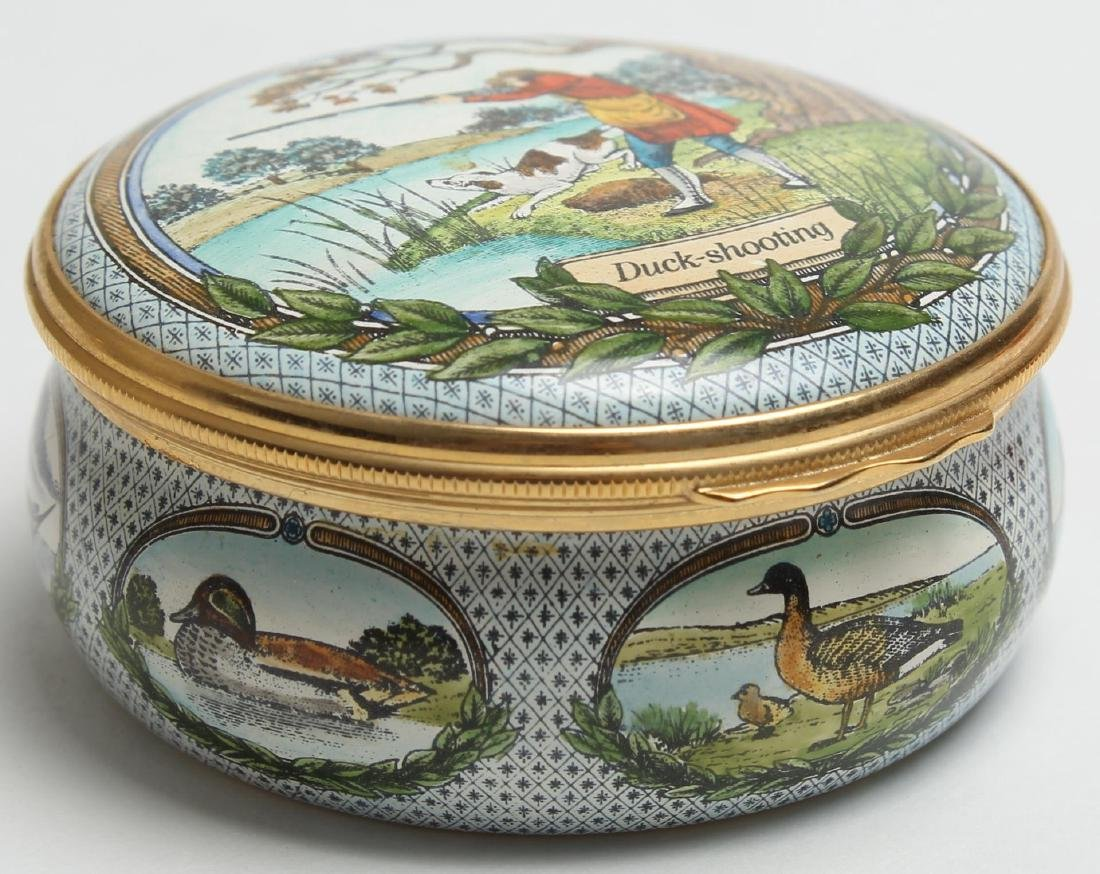 7 Halcyon Days Enamel Boxes - 4