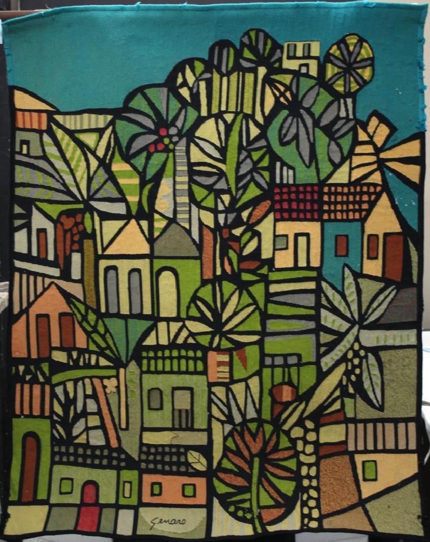 Genaro de Carvalho (Brazilian,1926-1971)- Tapestry
