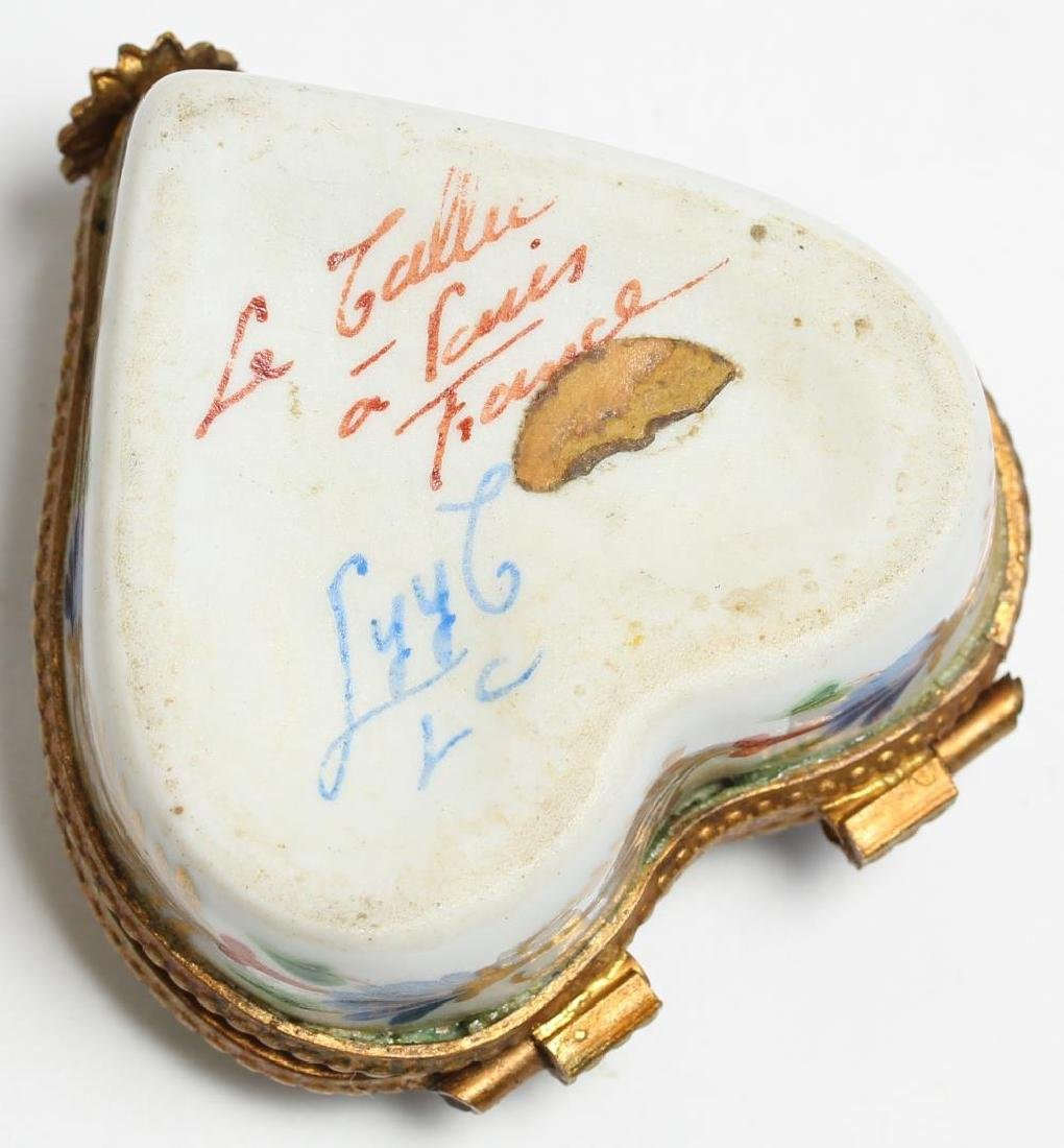 5 Enameled Boxes incl. Le Tallec & Halcyon Days - 2