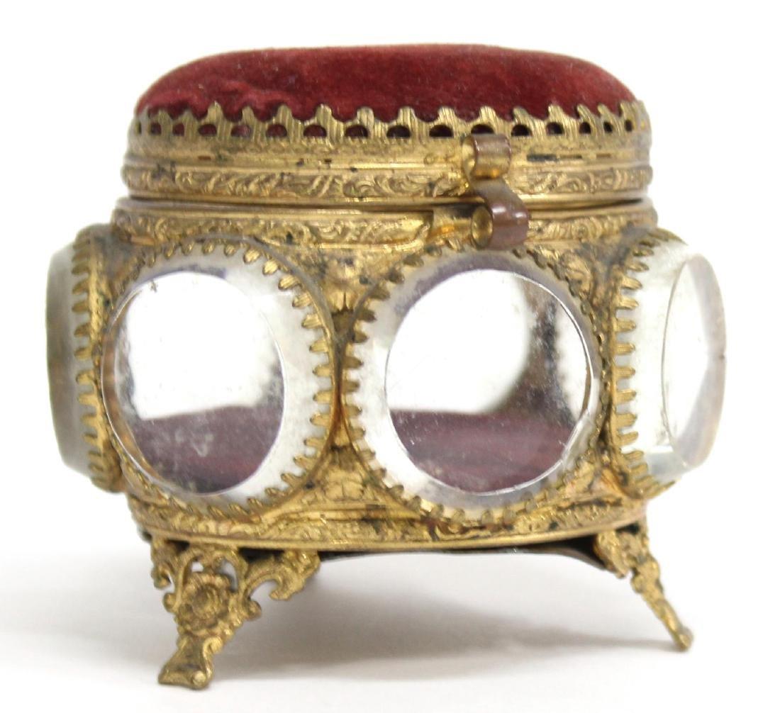 Cut-Crystal & Ormolu Mounted Jewel Box
