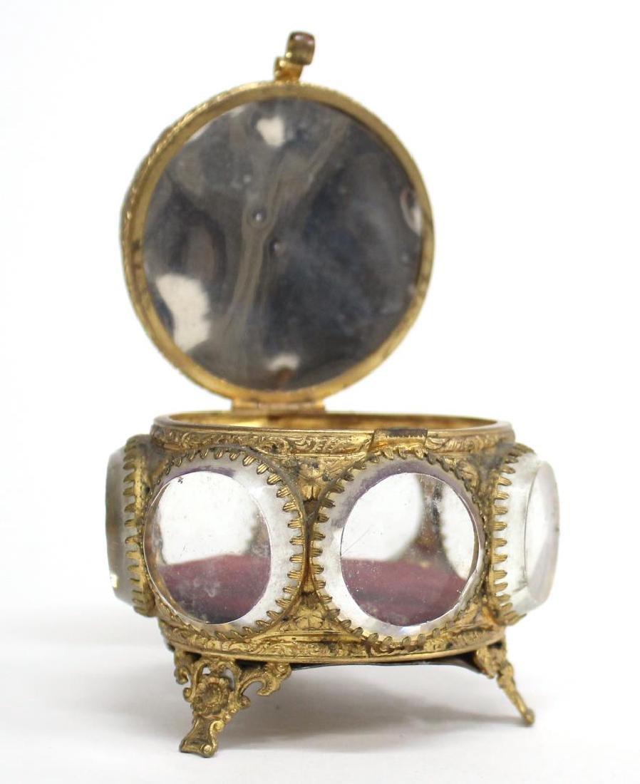 Cut-Crystal & Ormolu Mounted Jewel Box - 5