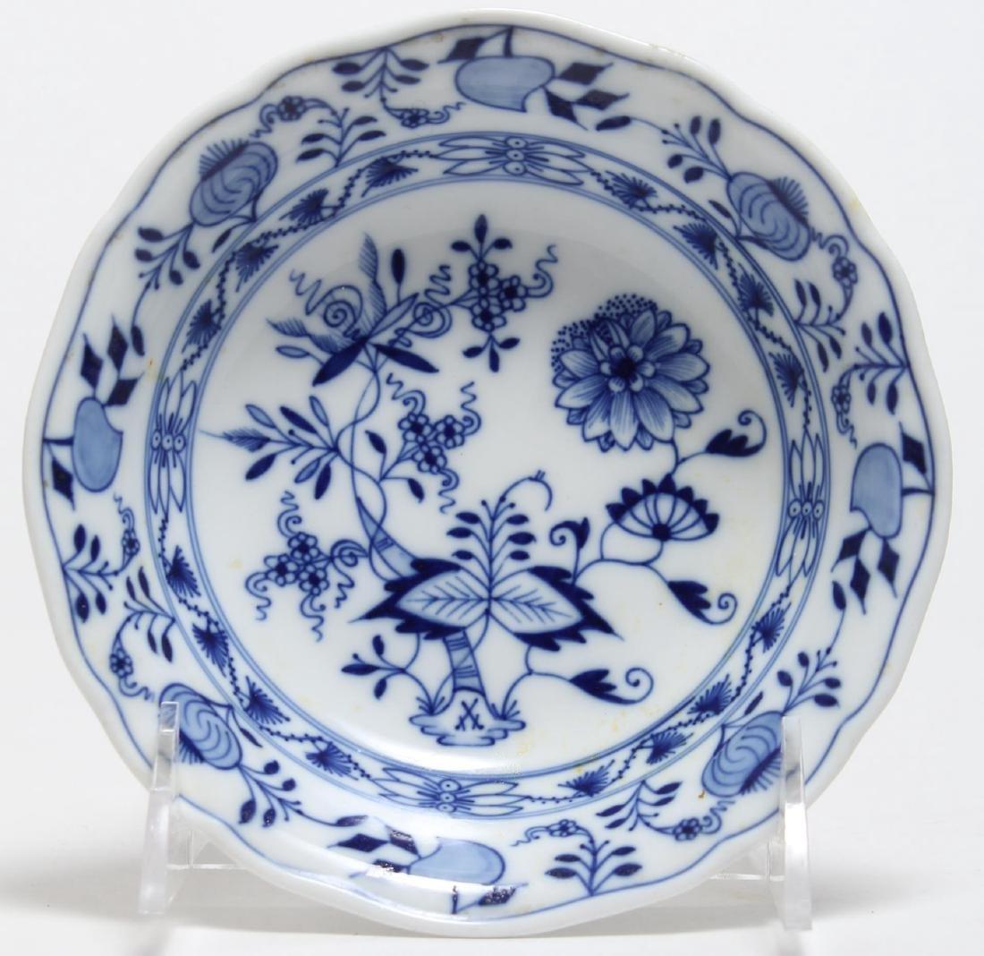 """15 Meissen Porcelain """"Blue Onion"""" Plates & Bowls - 2"""