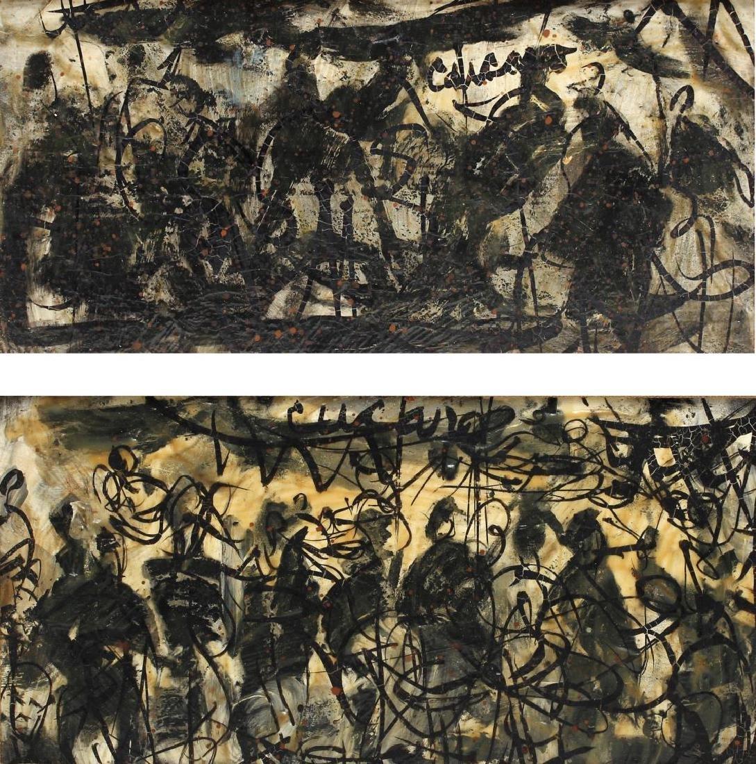 Pascal (Pat) Cucaro (American, 1915-2004)- 2 Oils