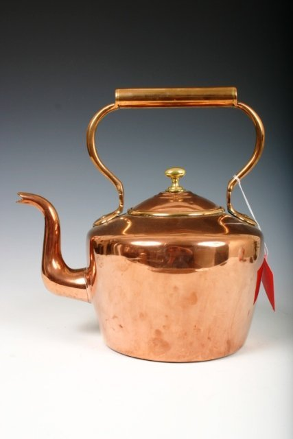 518: Large Copper Covered Boiling Pot