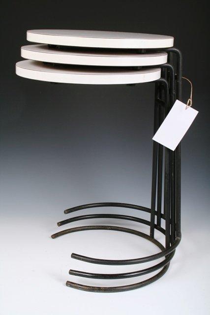 730: Jens Risom Set of 3 Nesting Tables