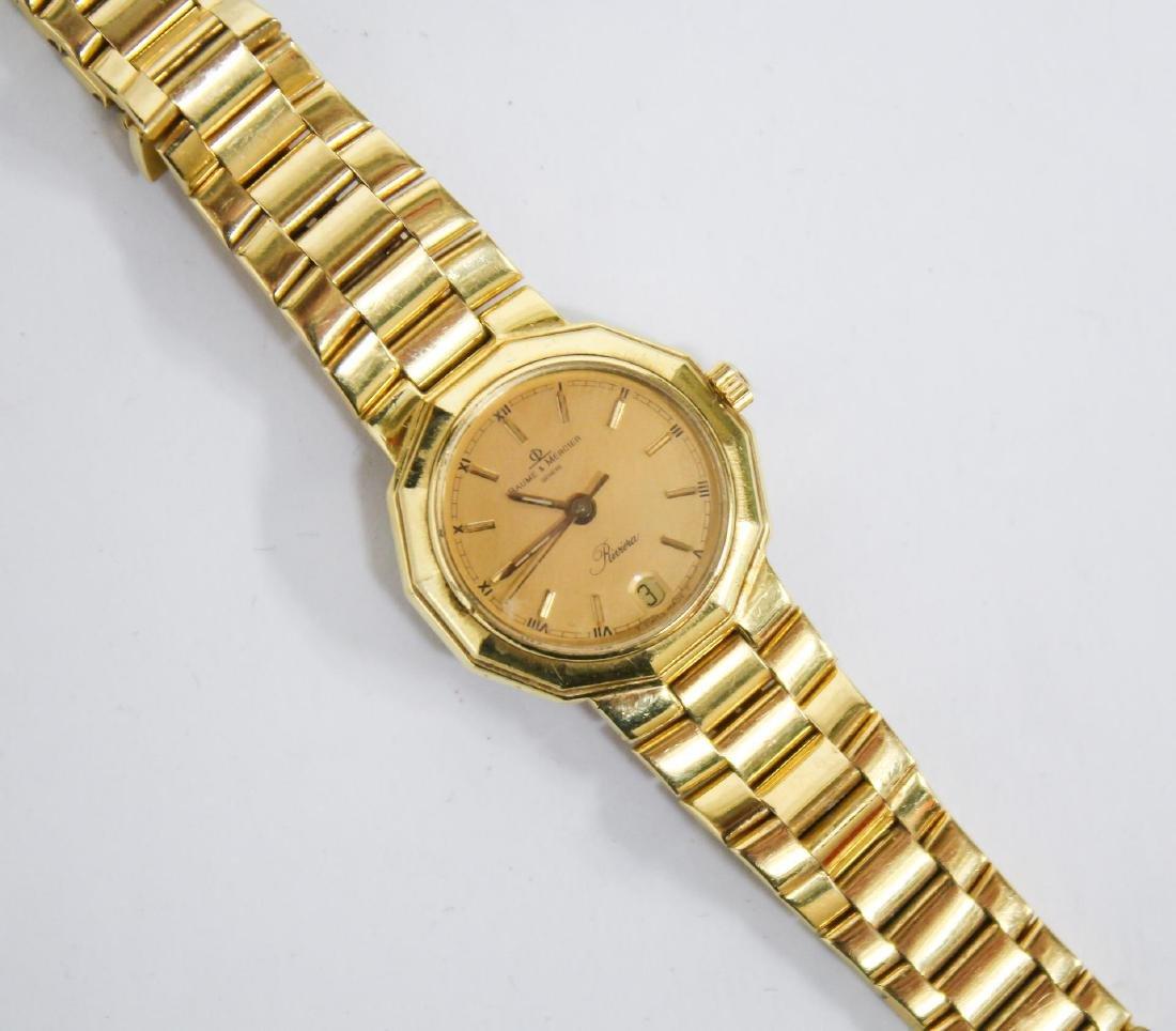 Baume & Mercier 18K Gold Riviera Lady's Watch