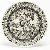 Bjorn Wiinblad for Rosenthal Large Plate