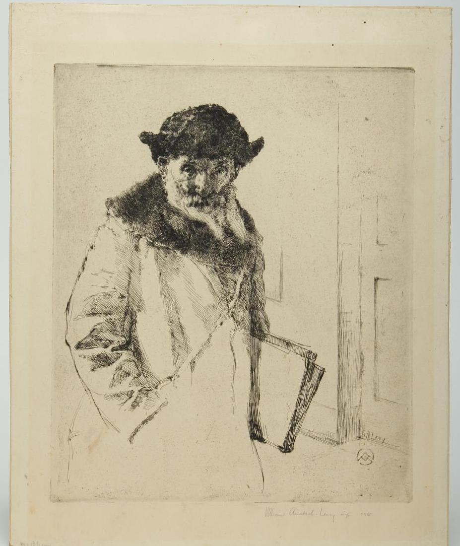 Wm. Auerbach-Levy (American 1889-1964)- Etching