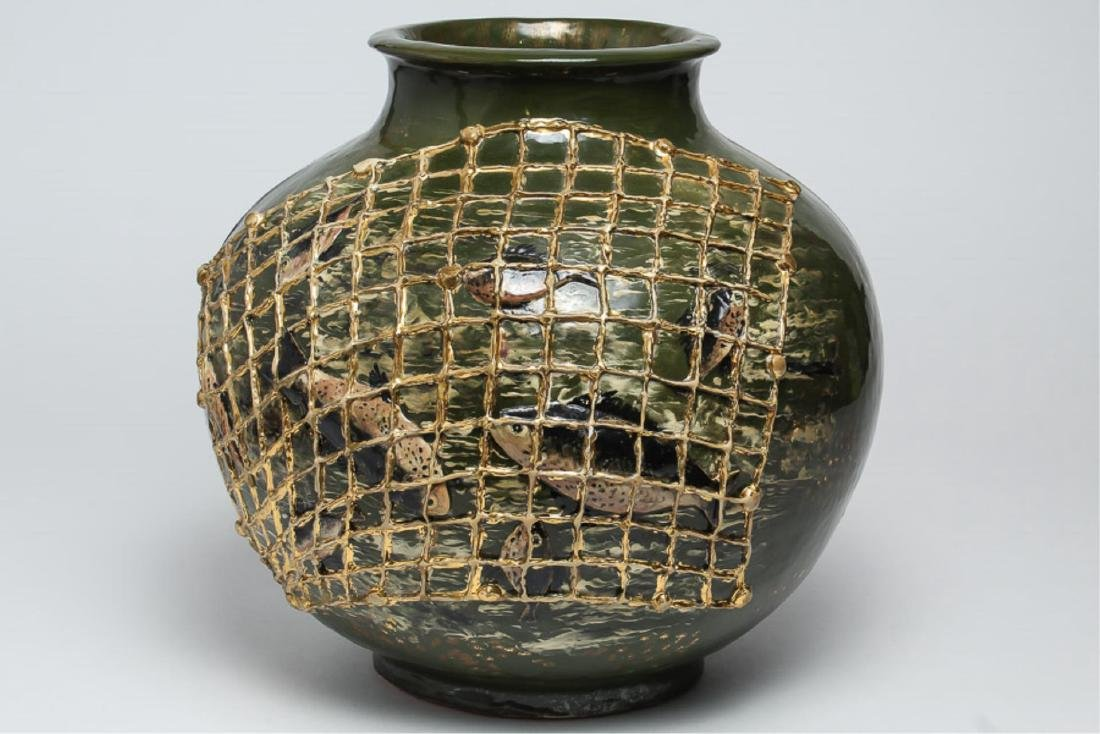 Rare Large Rookwood Japonisme Vase, 1882