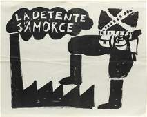 Original French Poster La Detente Samorce