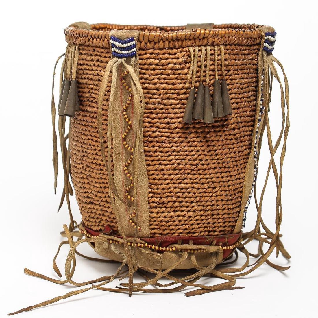 Southwestern San Carlos Apache Burden Basket