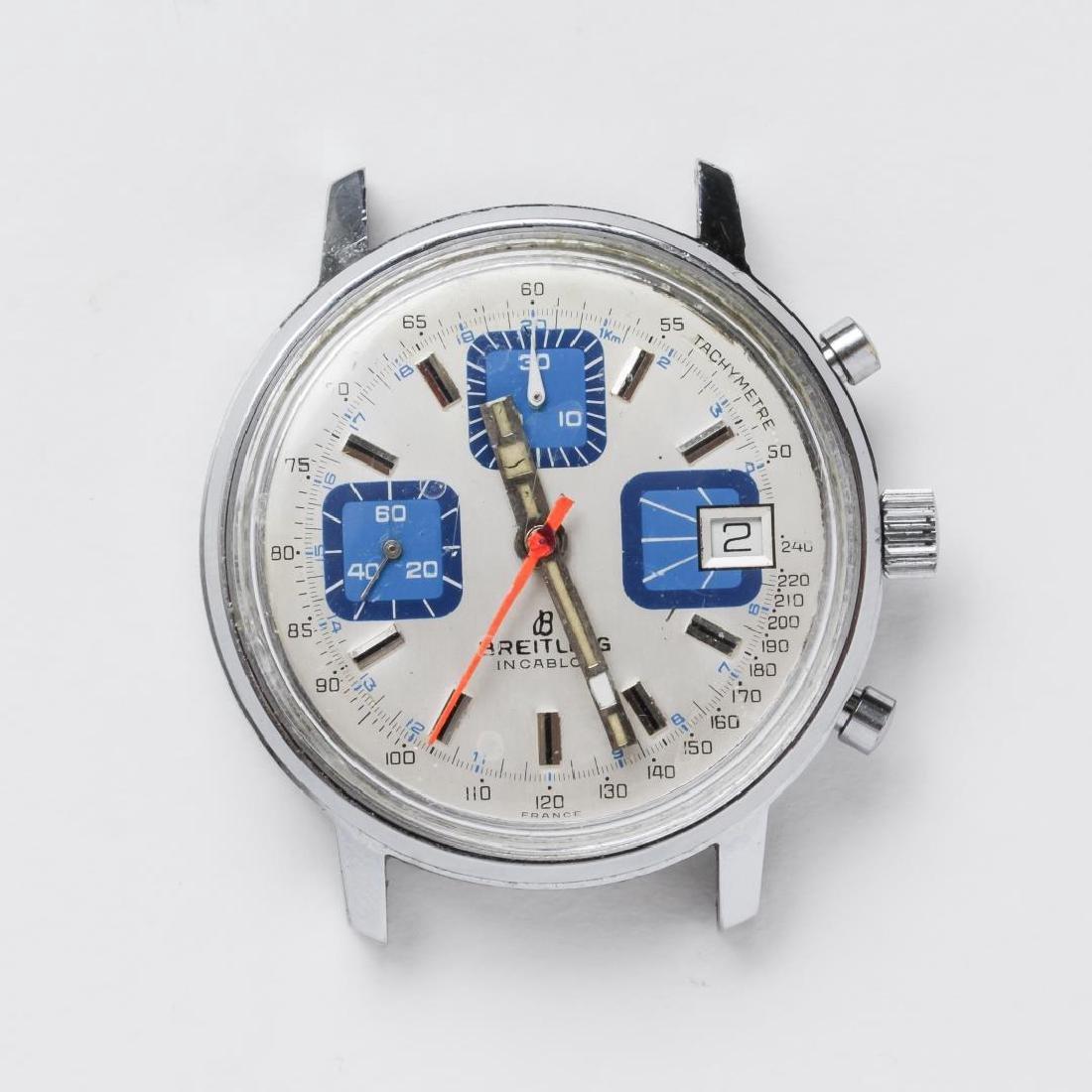 Breitling Incabloc Chronograph Watch, Vintage